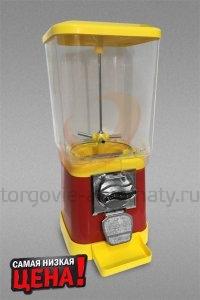 Автомат по продаже жевательной резинки, конфет, мячей-прыгунов и игрушек и бахил в капсулах Альфа (механический)