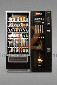 Комбинированный торговый + кофейный автомат Unicum Rossobar Touch