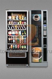 Комбинированный торговый + кофейный автомат Unicum Rossobar
