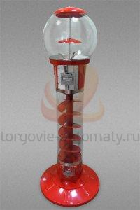 Автомат по продаже жевательной, мячей-прыгунов и марблс Kraft SP130 (механический)